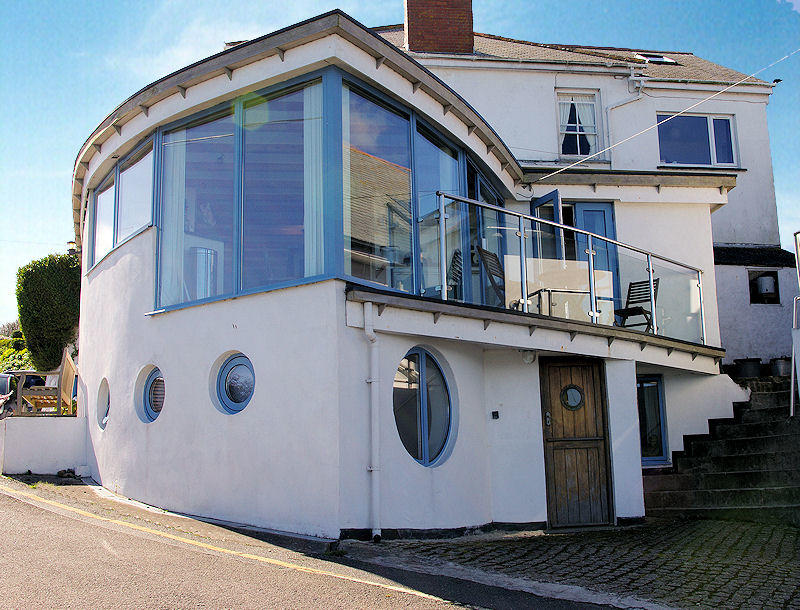 Boak Cottage in Coverack Cornwall