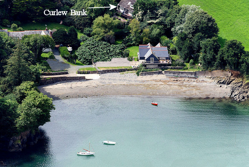Curlew Bank Cottage Gillan Nr Helford Cornwall - Self Catering from Lindfrod House