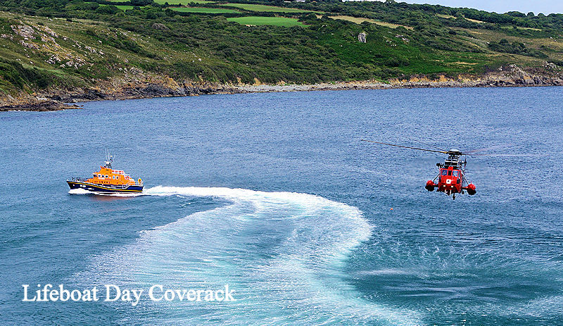 Lifeboat Day Coverack Cornwall