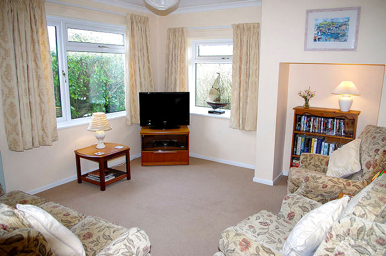 Self Catering Cornwall - sitting room
