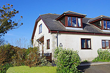 cornwall holiday cottage with sea views