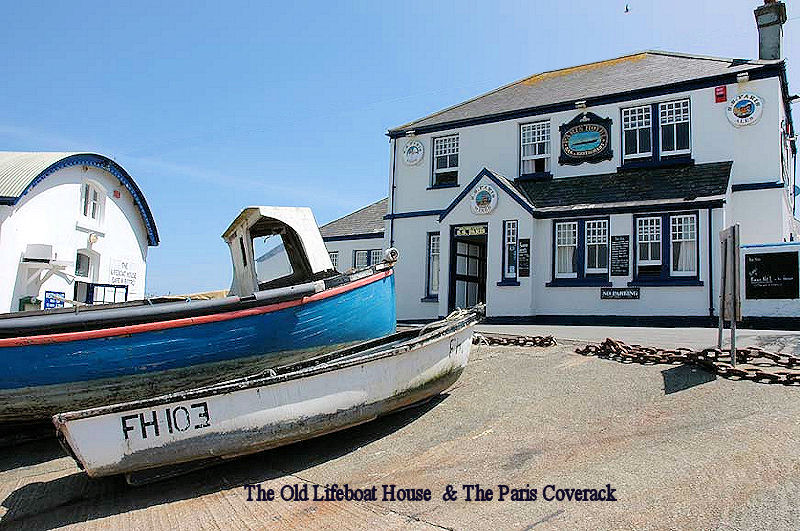 The Lifeboat House and Paris Hotel Coverack Cornwall