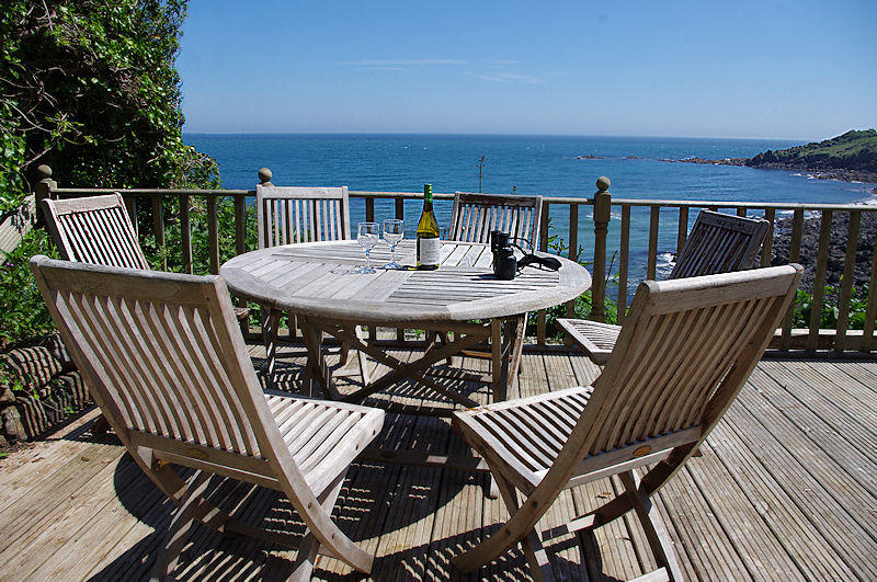 Prospect Cottage Coverack - close to the sea