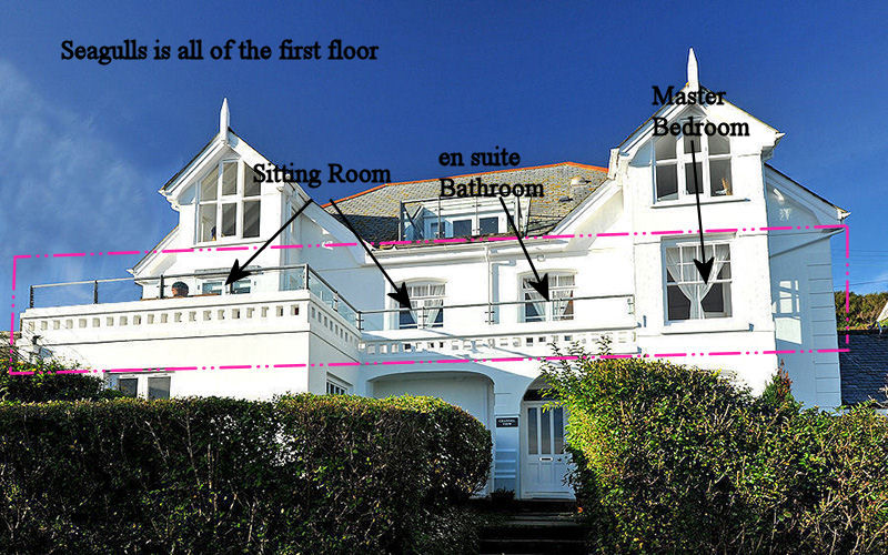 Self Catering Cottage Cornwall - first floor apartments