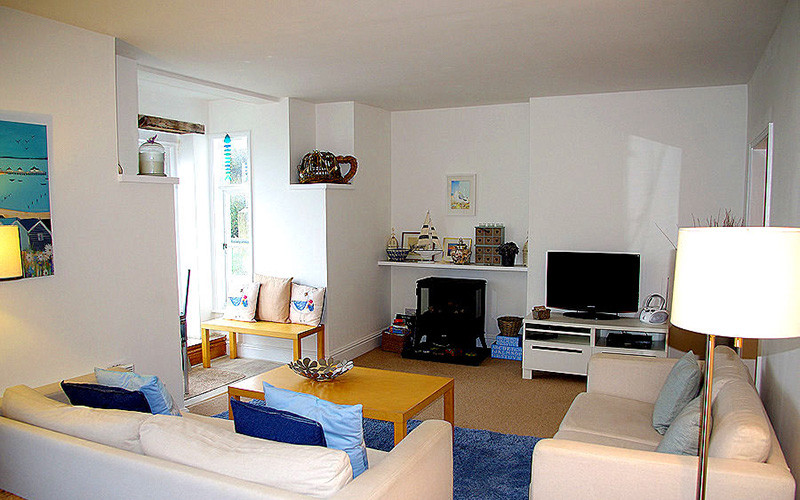Seagulls Cottage - living area / lounge - self catering in Cornwall