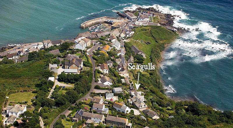 Seagulls Cottage Coverack Cornwall