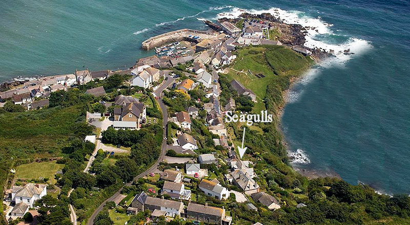 Self Catering Cornwall - Seagulls Holiday Cottage