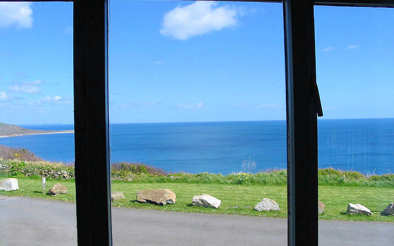 Sea Watch Cottage - sea view Cornwall - self catering