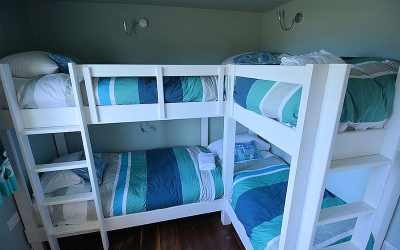 Bunk Beds - self catering cottage Cornwall