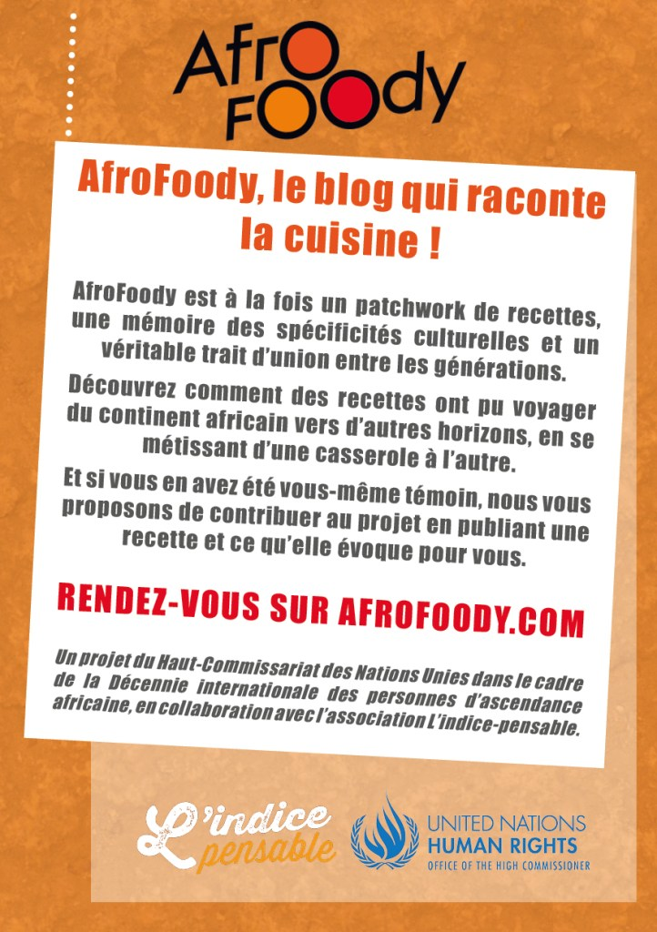 Flyer AfroFoody