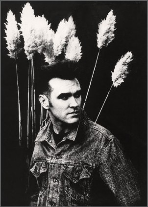 Morrissey fotografato da Anton Corbijn