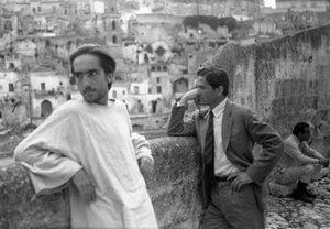 Irazoqui e Pasolini a Matera per Il Vangelo secondo Matteo