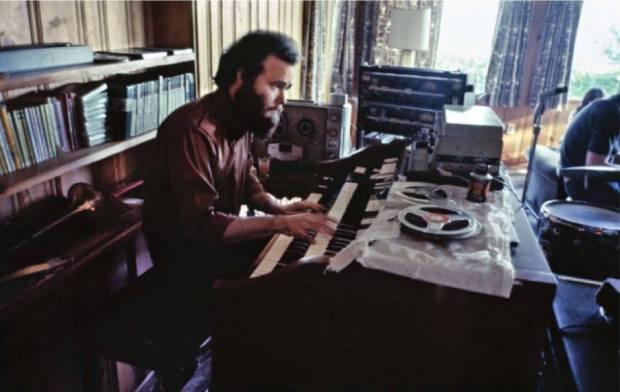 Garth Hudson, nel 1969