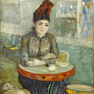 In the Café: Agostina Segatori in Le Tambourin, 1887, Vincent van Gogh