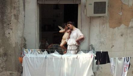 Alexey Kondarov - Napoli, Via Giudecca Vecchia (Quartiere Forcella)
