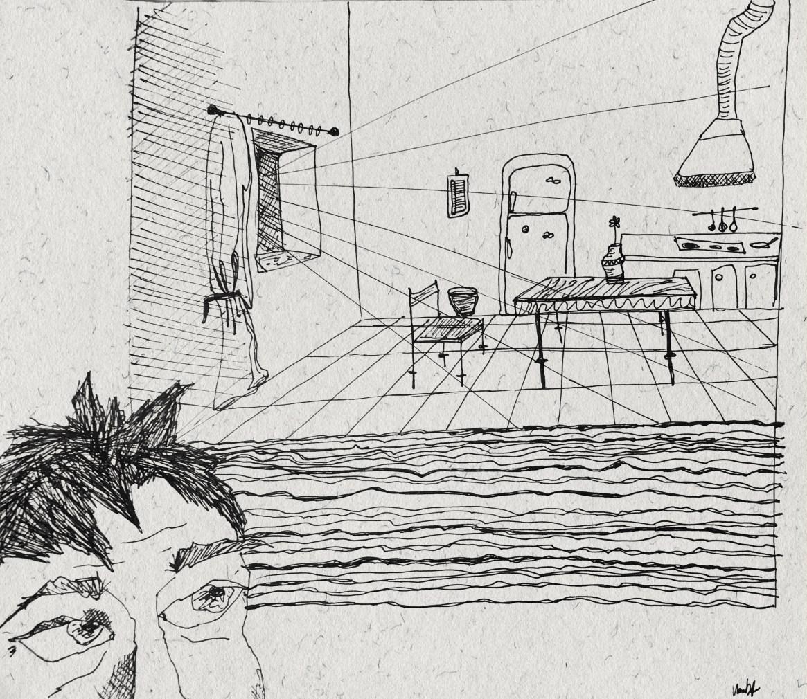 Illustrazione di copertina, Abise Mūru Kai