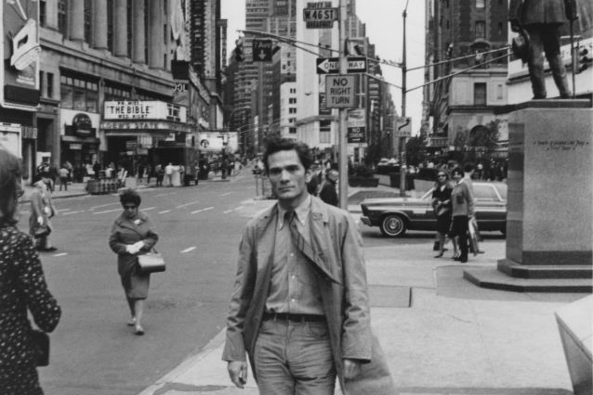 Pier Paolo Pasolini a New York