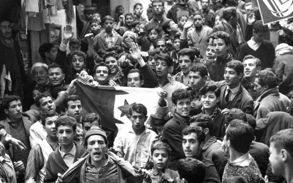 Algeria, manifestazione per l'indipendenza
