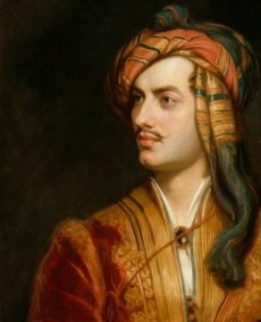 NPG 142; George Gordon Byron, 6th Baron Byron replica by Thomas Phillips
