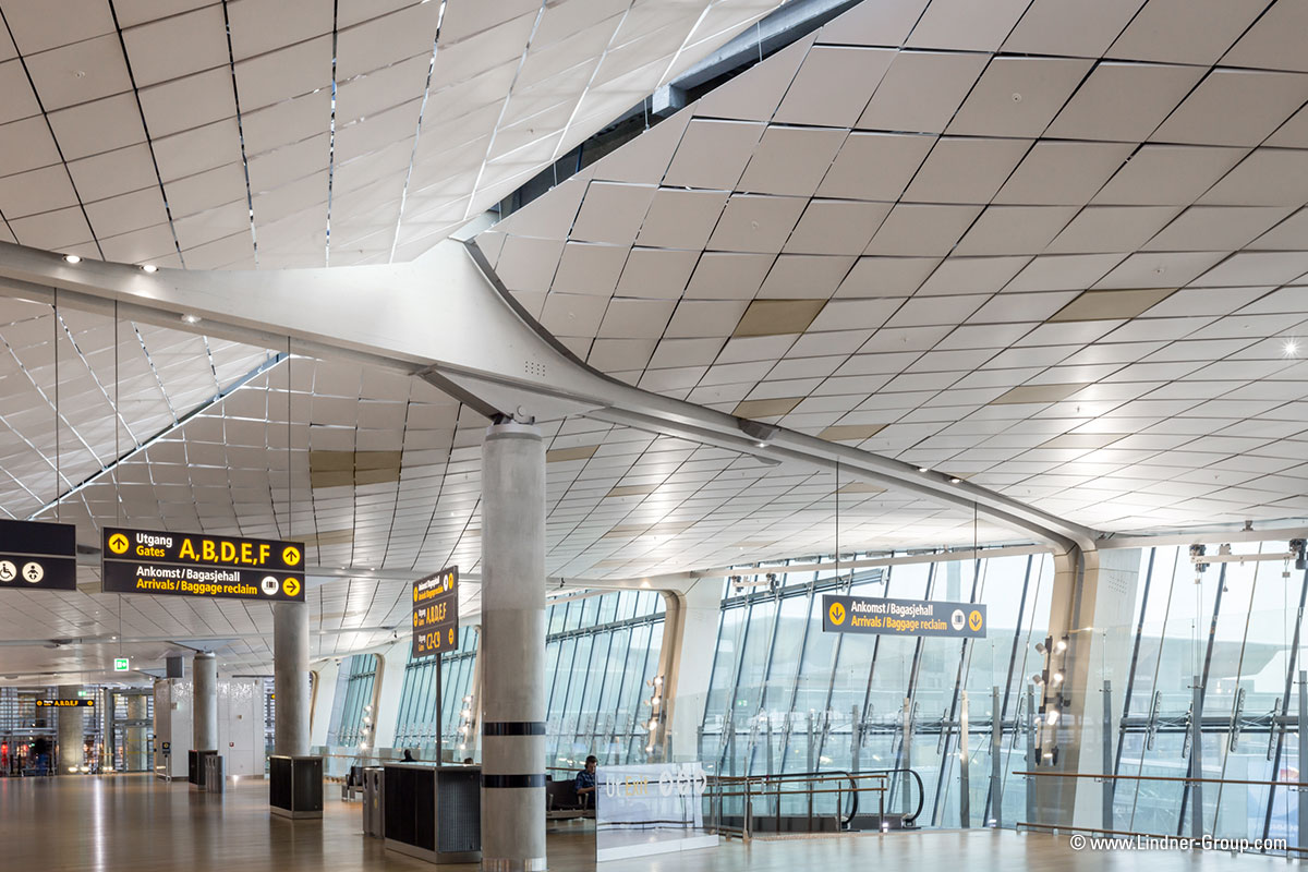 Terminal 2 Oslo Airport Lindner Group