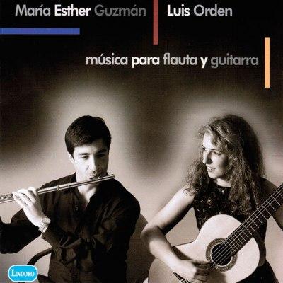 Música para flauta y guitarra Volumen I. Mª Esther Guzmán y Luis Orden. Lindoro, sello discográfico especializado en Música Antigua y Clásica. Tienda Online