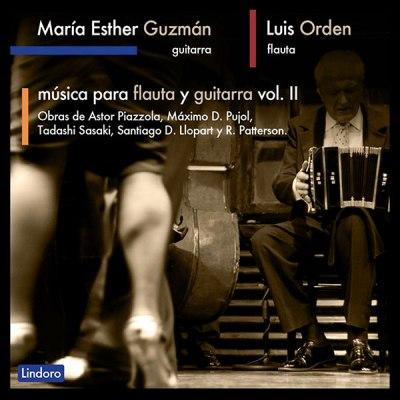 Música para flauta y guitarra Volumen II. Mª Esther Guzmán y Luis Orden. Lindoro sello discográfico especializado en Música Antigua y Clásica. Tienda Online