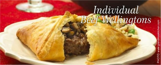 Individual Beef Wellingtons too