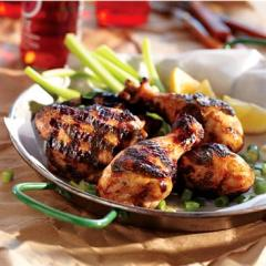 KNUDSENS Spicy Apple Jamaican Jerk Chicken