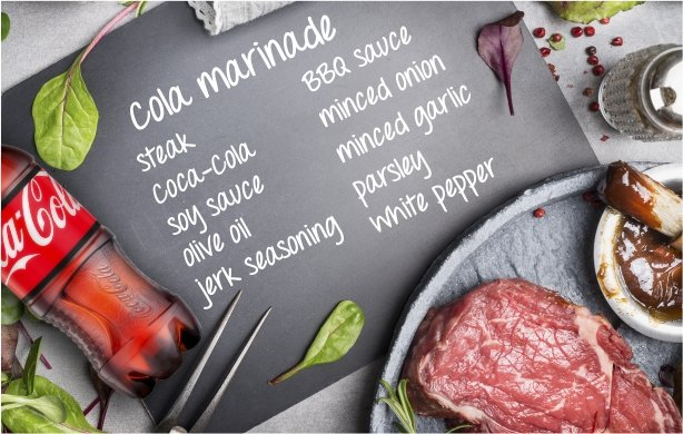 COCA-COLA Marinade Recipe