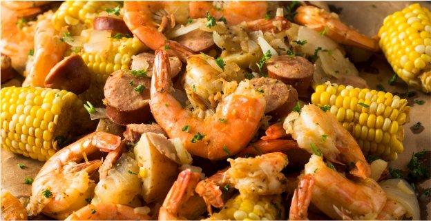 Shrimp Boil - Cajun Style