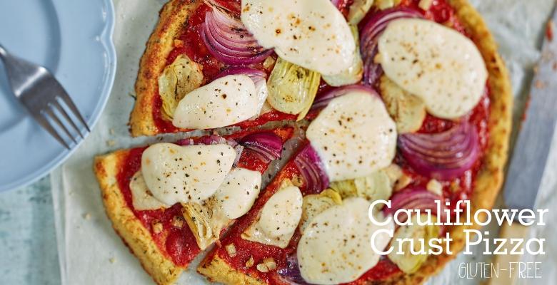 Cauliflower Crust Pizza-main