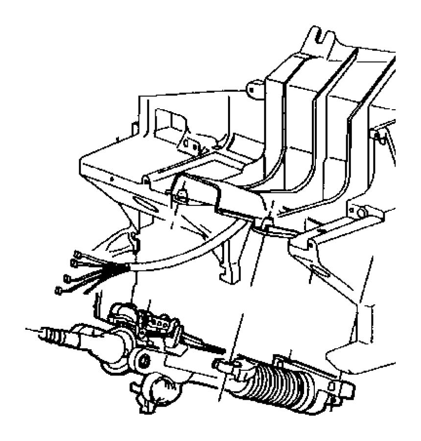 Dodge Durango Nut. Steering. Column. Servo. Wheel. 1997-00