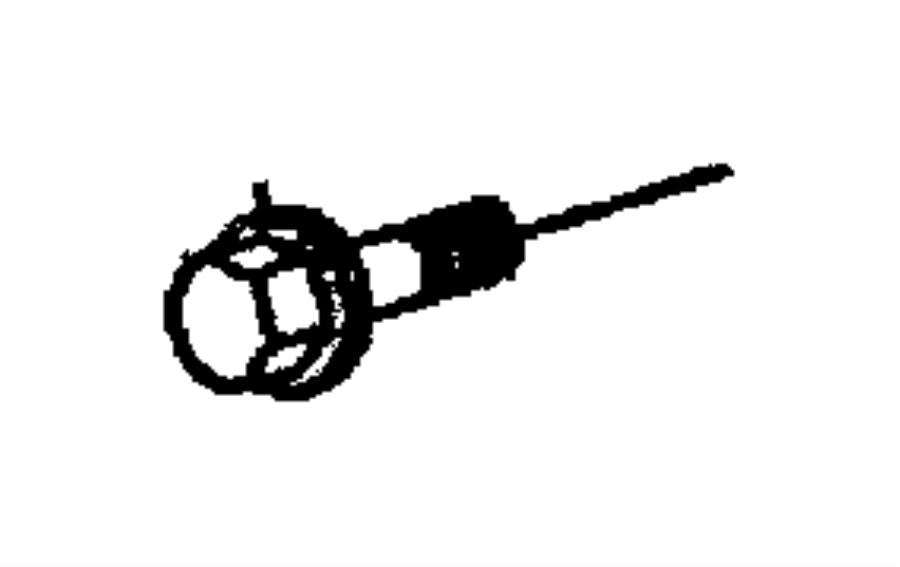 Jeep Wrangler Bolt. Mount. Alternator. Bracket. 1997-02