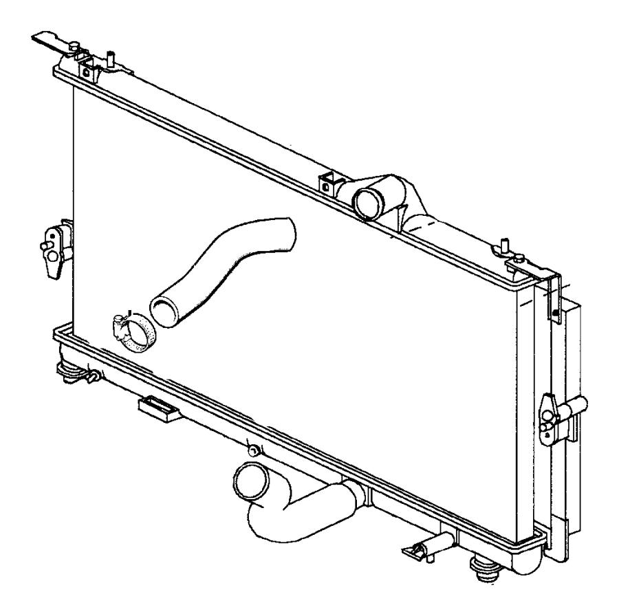 Chrysler Voyager Radiator Drain Plug. LITER, Valve