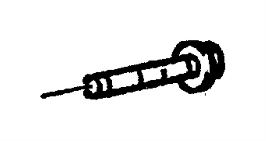 Dodge Dakota Bolt. Mount. Alternator. Bracket. 1997-02