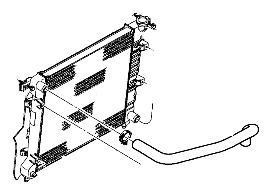 Dodge Dart Radiator Drain Plug. LITER, DIESEL, MEGA
