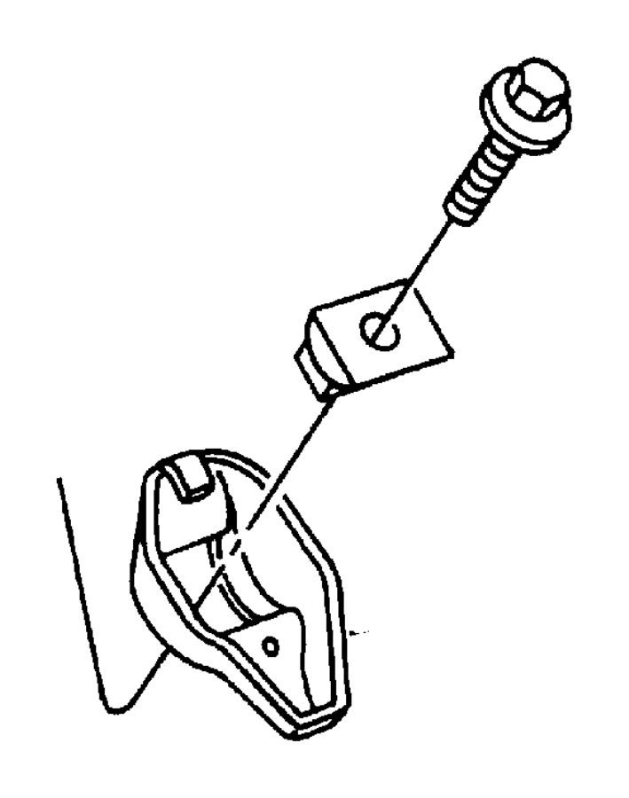 Dodge D150 Rocker arm. Rocker pivot. 5.2l, 5.9l. All