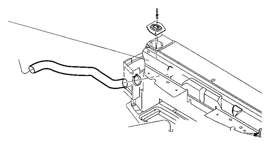 Dodge Intrepid Radiator Coolant Hose (Upper, Lower). 3.2
