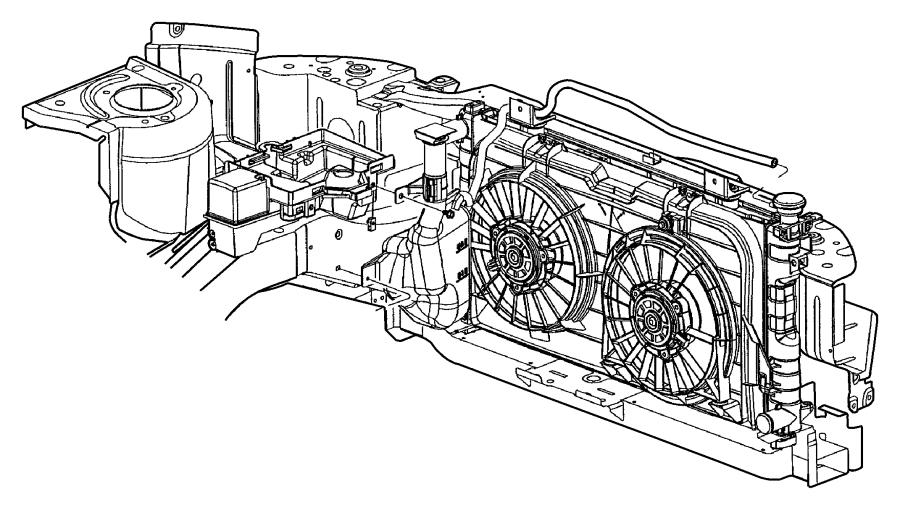 Dodge Ram 2500 Engine Coolant Reservoir Cap. LITER