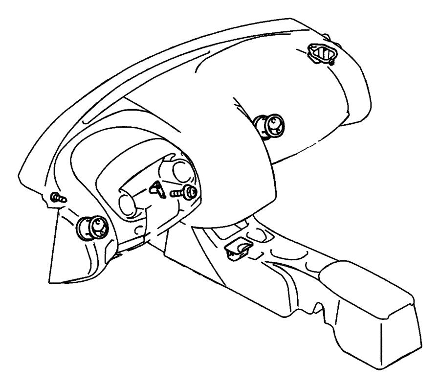 Dodge Stratus Ash Tray. Coupe,. FCA, CONSOLE, CENTER, Body