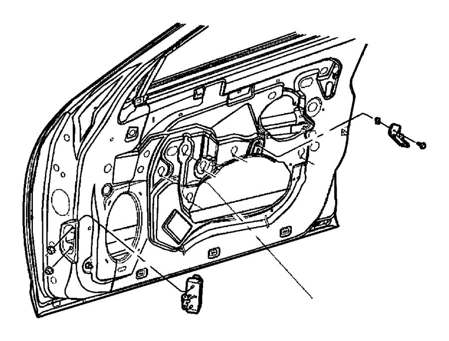 Chrysler 300M Nut. Trim. Panel. 2006-10. SEDAN