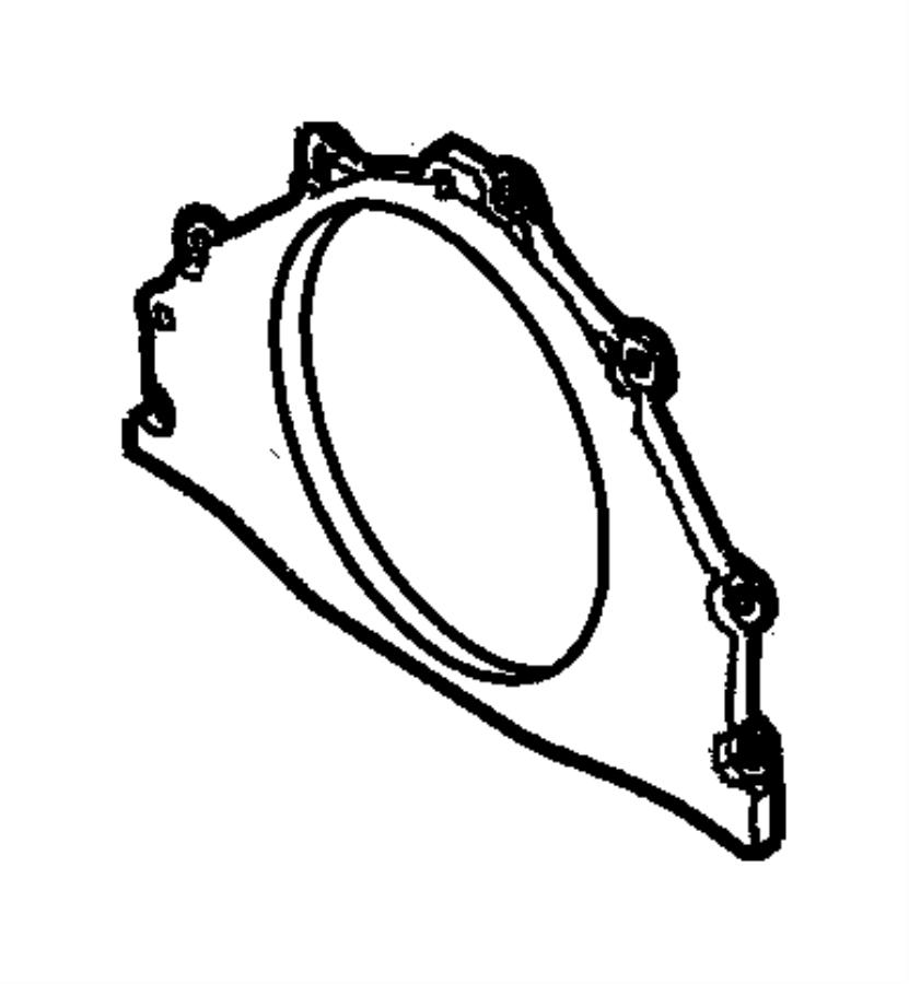 Dodge Avenger Engine Crankshaft Seal. BEARINGS, Models
