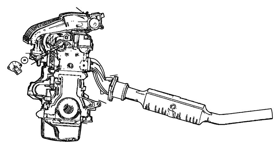 Dodge Neon Engine Camshaft Position Sensor. Repair, Cause