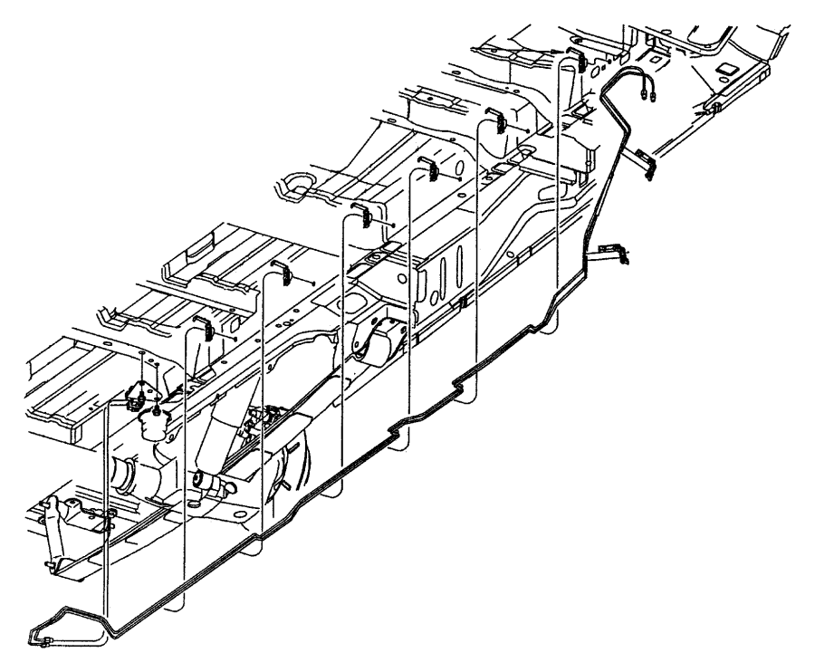 Chrysler Voyager Brake Hydraulic Line. Valve, Junction
