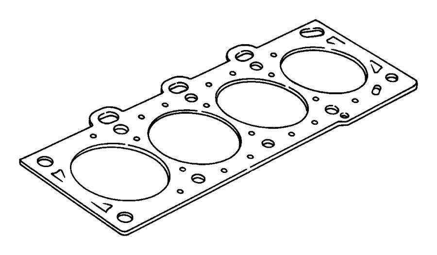 Dodge Neon Engine Cylinder Head Gasket. HEAD. Gasket