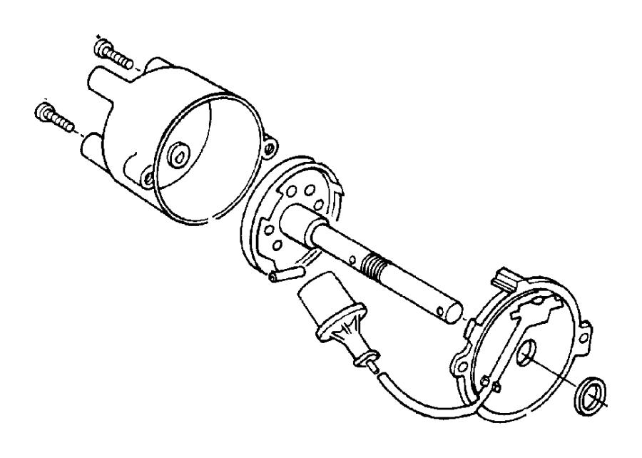 Jeep Wrangler Distributor. Ignition. 2.5 LITER. All Models