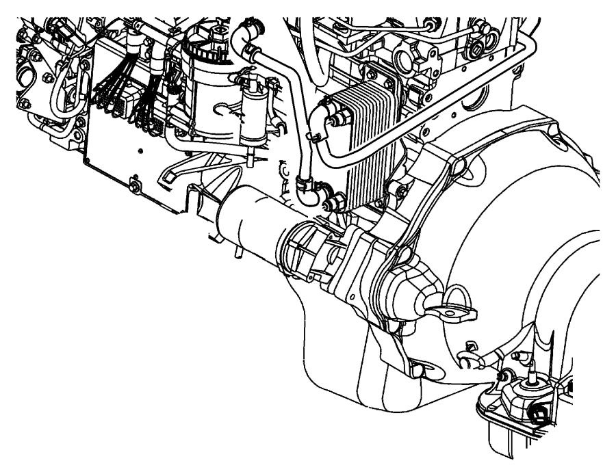 Dodge Ram 2500 Hvac heater hose clamp. 5.9 & 6.7 liter