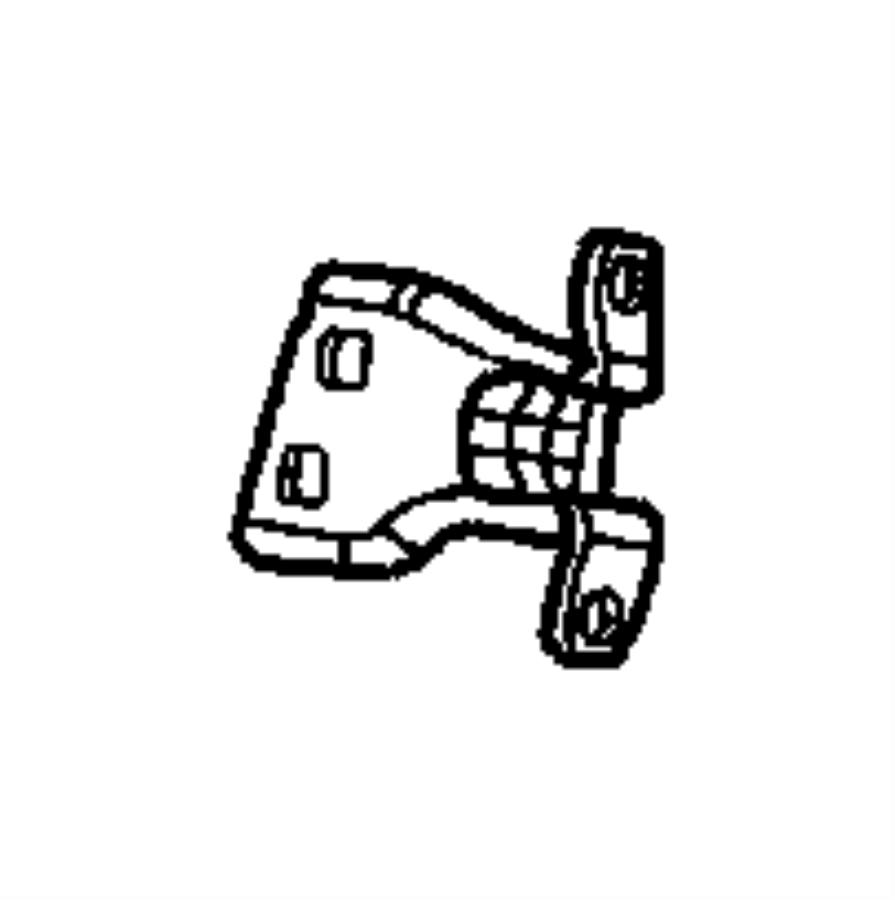 Chrysler Cirrus Door Hinge. Body, lower. Door, lower. REAR