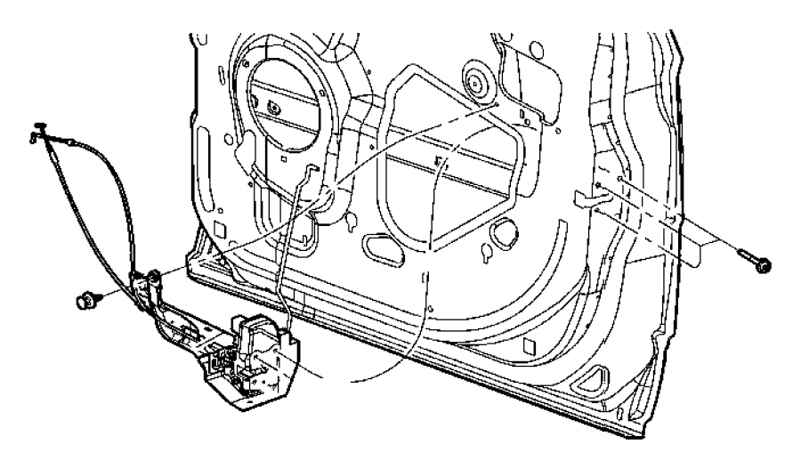 Chrysler Pacifica Door. Trim. Panel. Fastener. Retainer