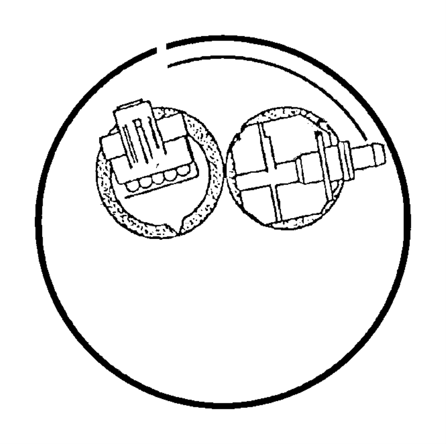 Chrysler Sebring Fuel Pump Tank Seal. CONVERTIBLE,. GAS